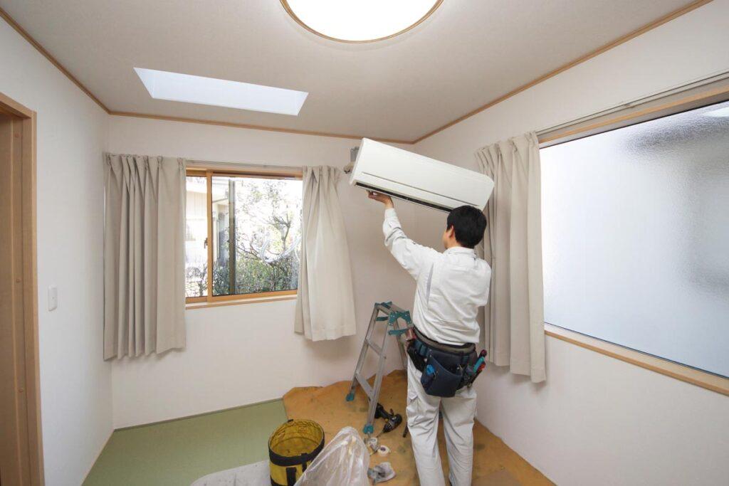 エアコン設置工事をするなら室内機と室外機の場所を検討しよう